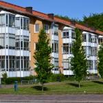 Ett av våra fyra hus som ligger beläget ut mot Bobergsängen. © 2012 Jonas Ericsson – All rights reserved